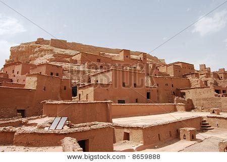 Buildings At Ait Benhaddou