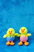 stock photo of baby easter  - Soft toys  - JPG