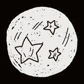image of meteors  - Doodle Meteor - JPG
