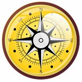picture of longitude  - Wind rose compass flat symbols - JPG