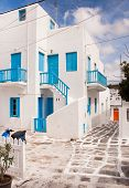 image of greek-architecture  - Classical Greek architecture of the streets  - JPG
