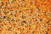 foto of legume  - Close up Mix Legumes Background Full Frame - JPG