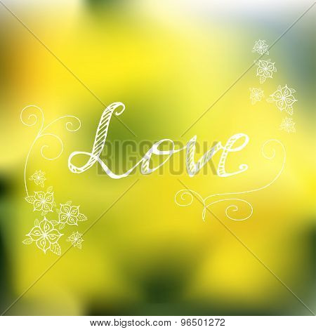 Natur Spring Background.