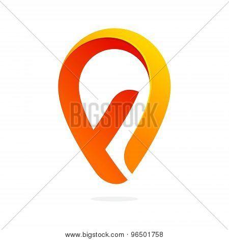 F Letter Volume Logo