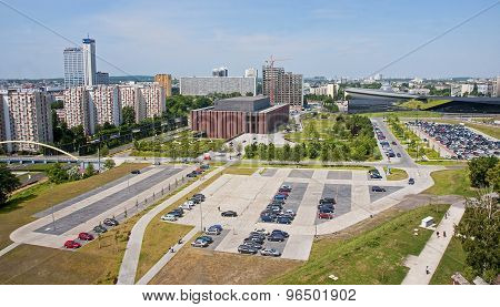 Katowice, Poland - July 19, 2015:panorama Of The City On 19 July