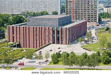 Katowice, Poland- July 19, 2015: New Seat Of Polish National Rad