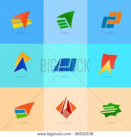 Set-of-icons-on-a-background-of-a-beach-for-tourism-cruise-hotel
