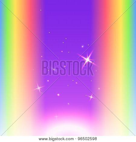 Sparkle-rainbow-gradient-background-night-sky-star