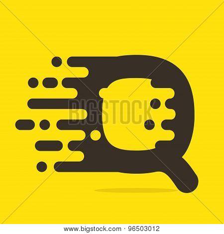 Q Letter Logo Design Template.