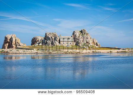 Plougrescant  Brittany France