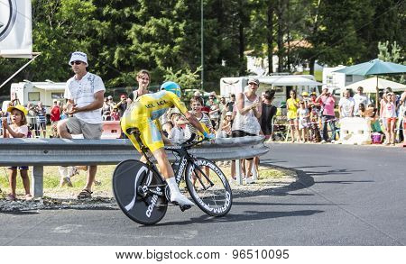 Vincenzo Nibali - The Winner Of Tour De France 2014