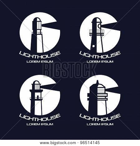 Lighthouse Circle Badges
