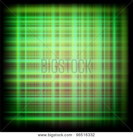 Abstract dark green plaid textures