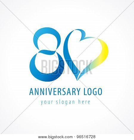 80 anniversary logo