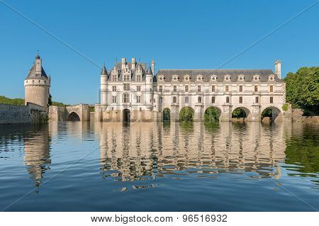 Chenonceau castle, oire Valley,France