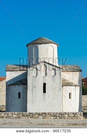 The church of Saint Cross, Nin, Croatia.