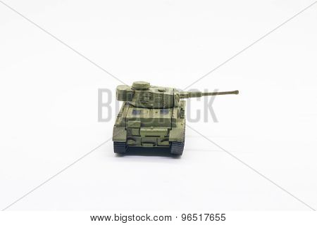 World war II toy tank