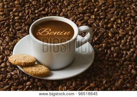 Still Life - Coffee With Text  Benin