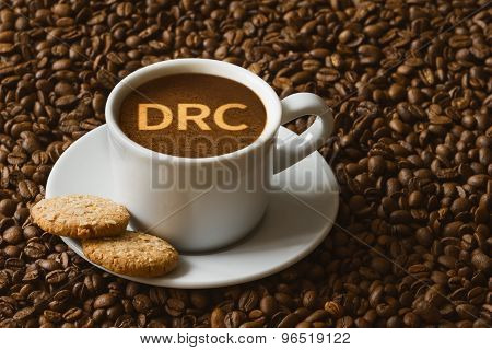 Still Life - Coffee With Text Drc (democratic Republic Of The Congo)