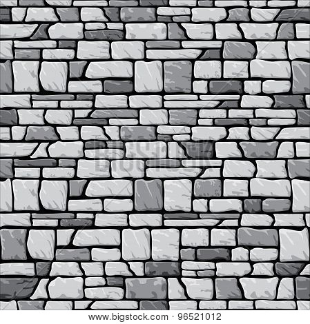 Grey stone wall seamless