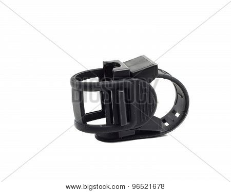 Dusty Rubber Mount For Flashlight
