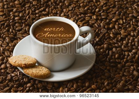 Still Life - Coffee With Text North America