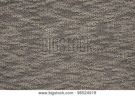 Abstract Texture Jersey Of Dark Beige Color
