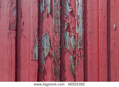 Full Frame Red Wood Background