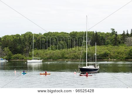 Boats And Kayaks In Baddeck