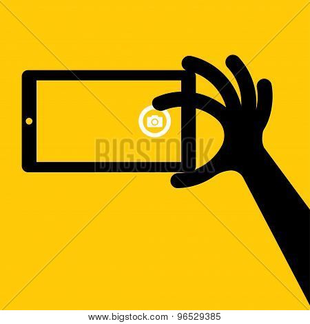 Taking Selfie Photo