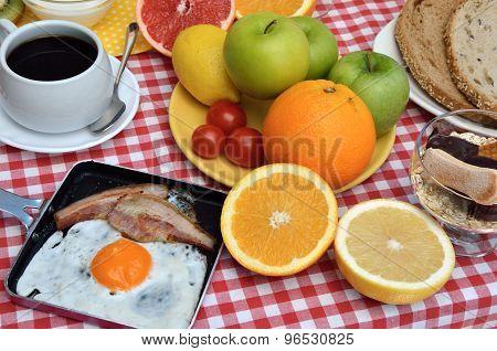 Tasty Breakfast Or Brunch