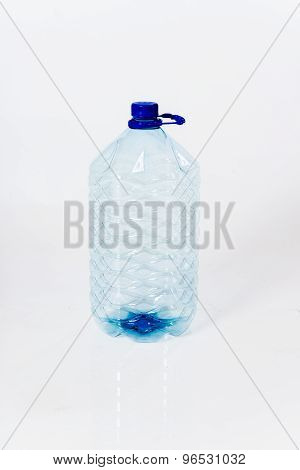 Reusable standard five-halons plastic water bottle for cooler