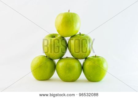 Pyramid of apples