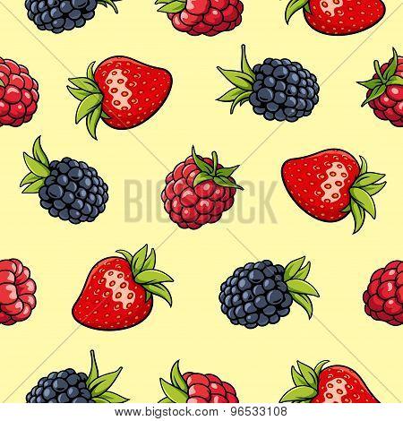 Berries Pattern 2