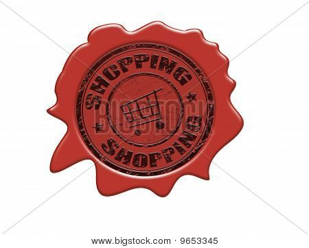 Shopping Wax Seal