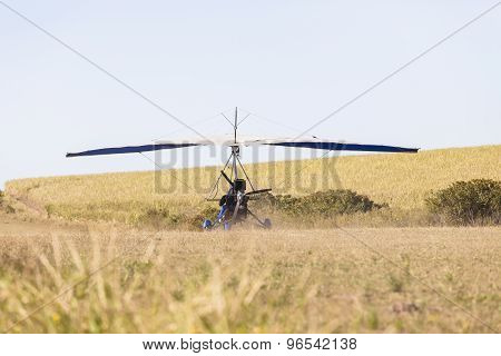 Microlight Flying Aircraft Airstrip
