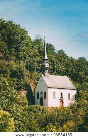 German Church In Ahrbruck, District Of Ahrweiler, Germany.