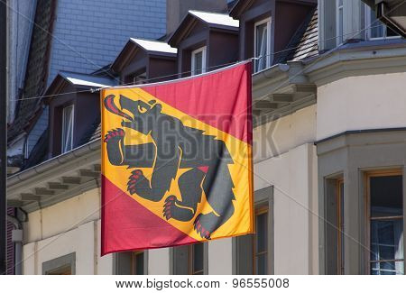 Flag Of The Canton Of Bern