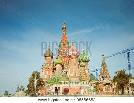 The Most Famous Place In Moscow, Saint Basil's Cathedral