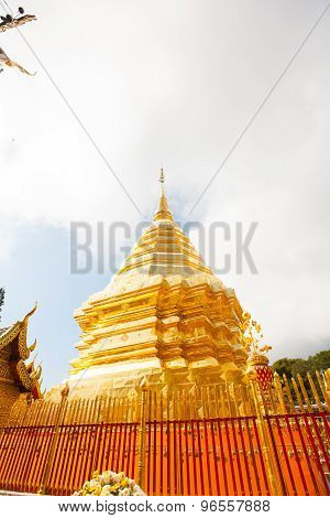 Wat Phra That Doi Suthep In Chiang Mai, Thailand