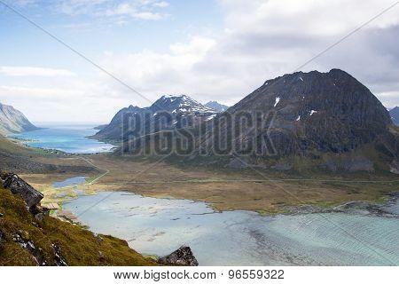 mountain view - Lofoten Islands, Norway