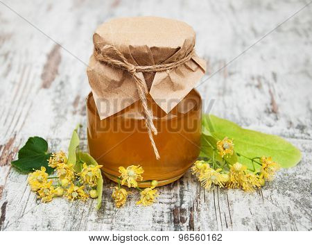 Jar With Honey