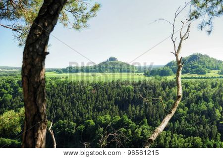 Landscape Saxon Switzerland