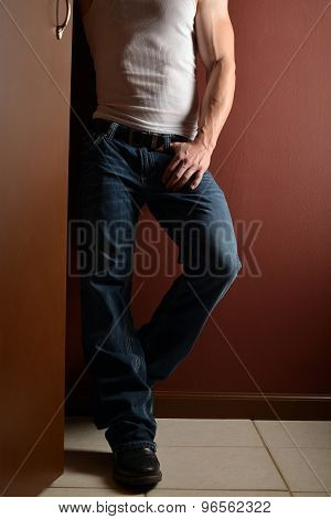 Man In Blue Jeans