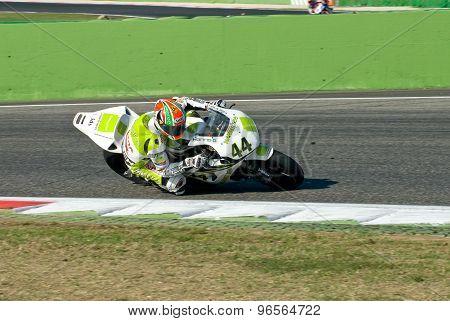 Rome, Italy - September 30 2007. Superbike Championship, Vallelunga Circuit. Roberto Rolfo
