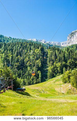 Italian Mountain Landscape