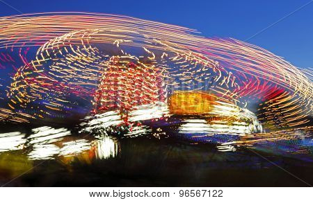 Long Exposure Fair Ride Motion