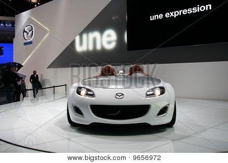 Mazda Mx-5 Superlight At Paris Motor Show