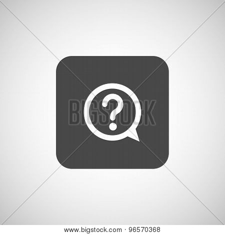 Image question mark icon solution mark symbol business