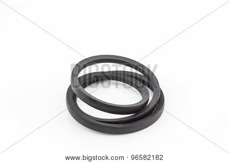 Black Engine Belt Accessories.